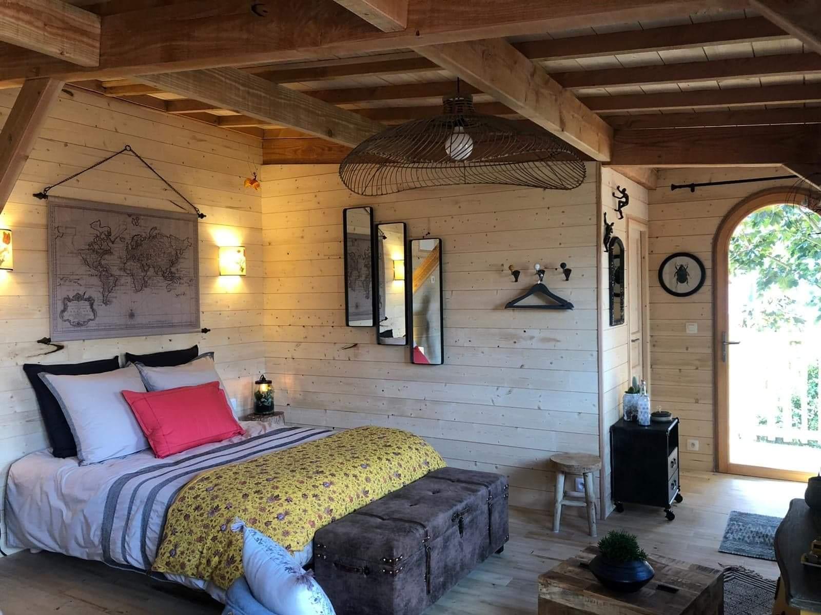 La chambre de la cabane