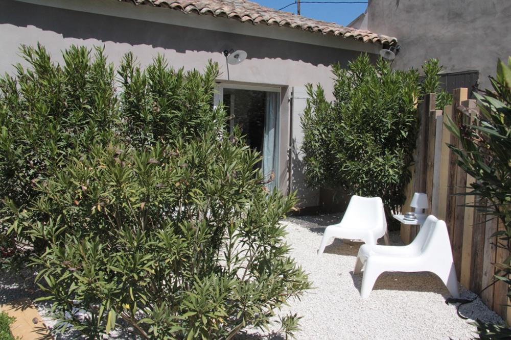 Terrasse Gite Alpilles