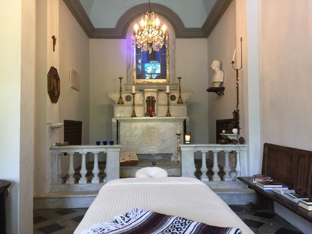 MASSAGES, YOGA, MEDITATION OFFERED IN CHAPEL