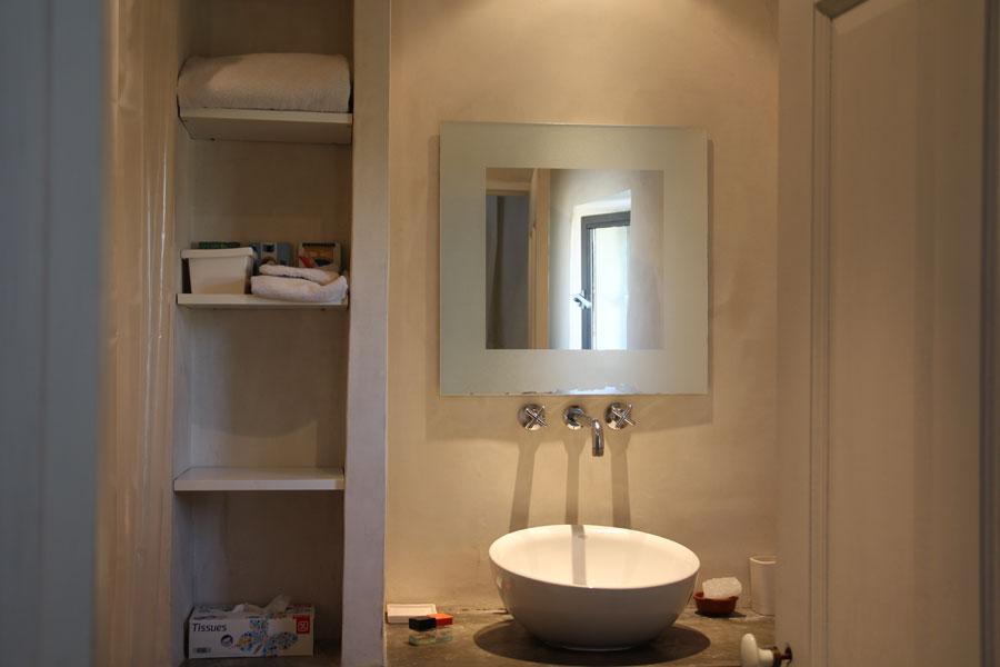 Mas Langlade - salle de bains chambre Blanche