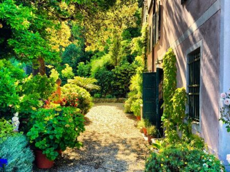 N FROMT OF APARTMENT IL GIARDINO