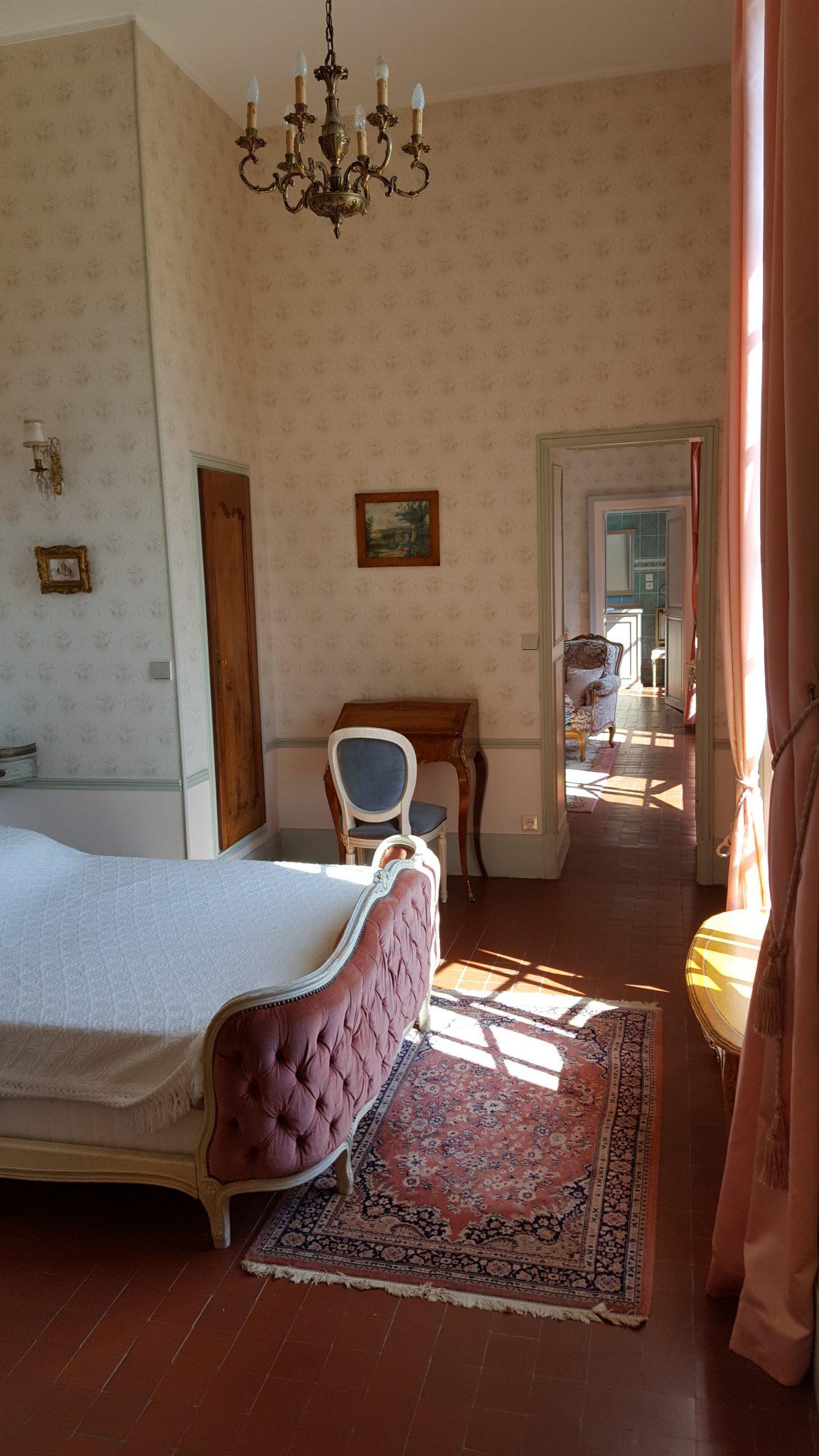 Chateau Rouillon d'Allest - Suite Louis XV - 2e chambre